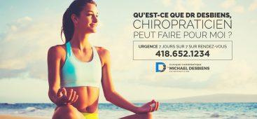 Chiropraticien pour traitement de migraine Quebec