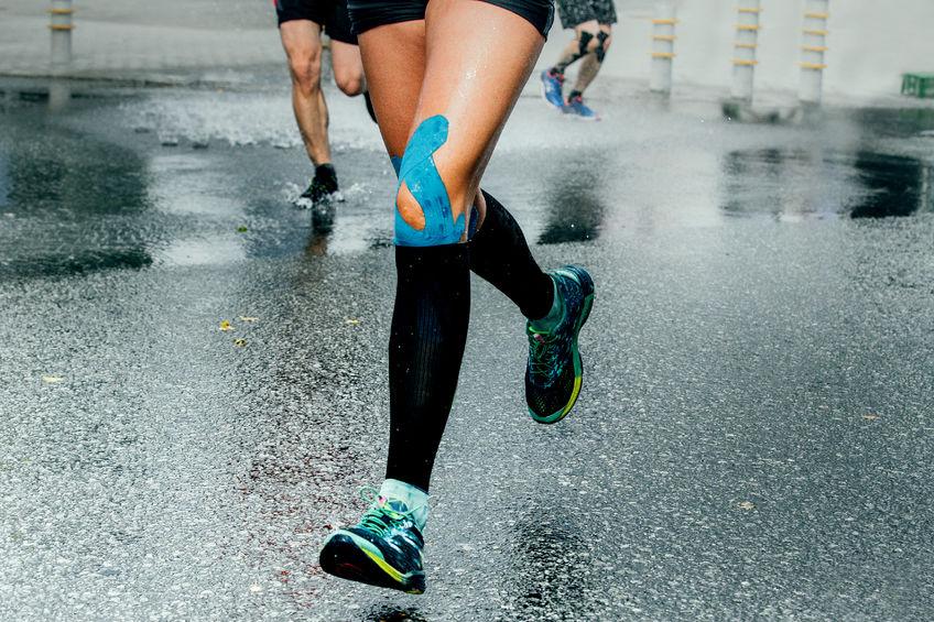Athlete avec syndrome femoro-patellaire