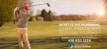 Chiropraticien pour traitement sténose spinale Québec