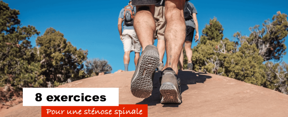 8 exercices pour stenose spinale