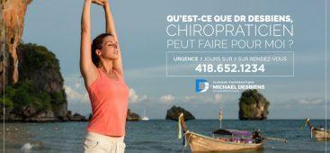 Chiropraticien pour traitement de la tendinite