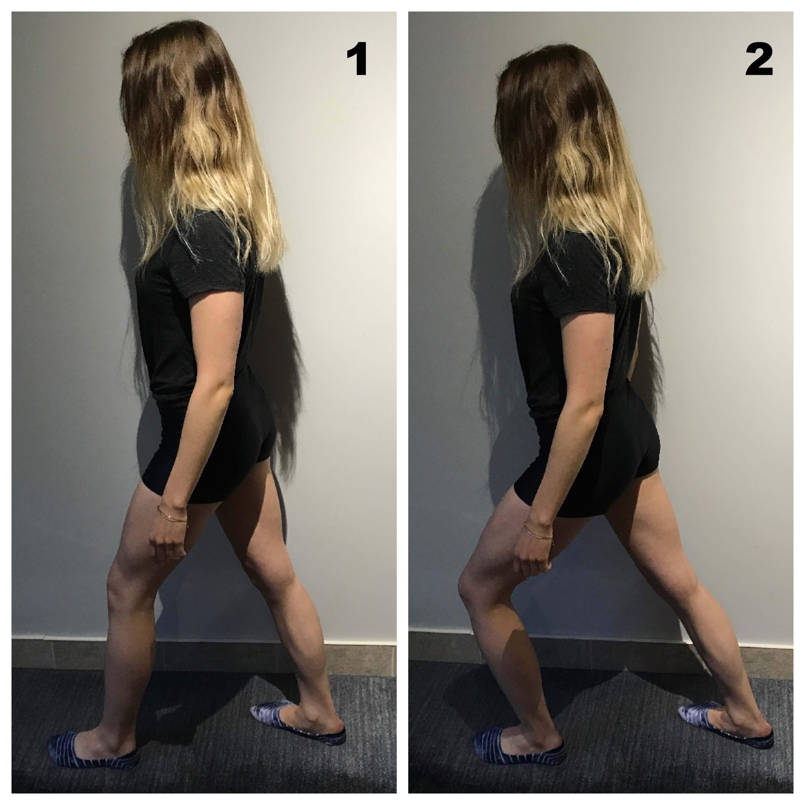 Force quadriceps debout pour syndrome femoro patellaire