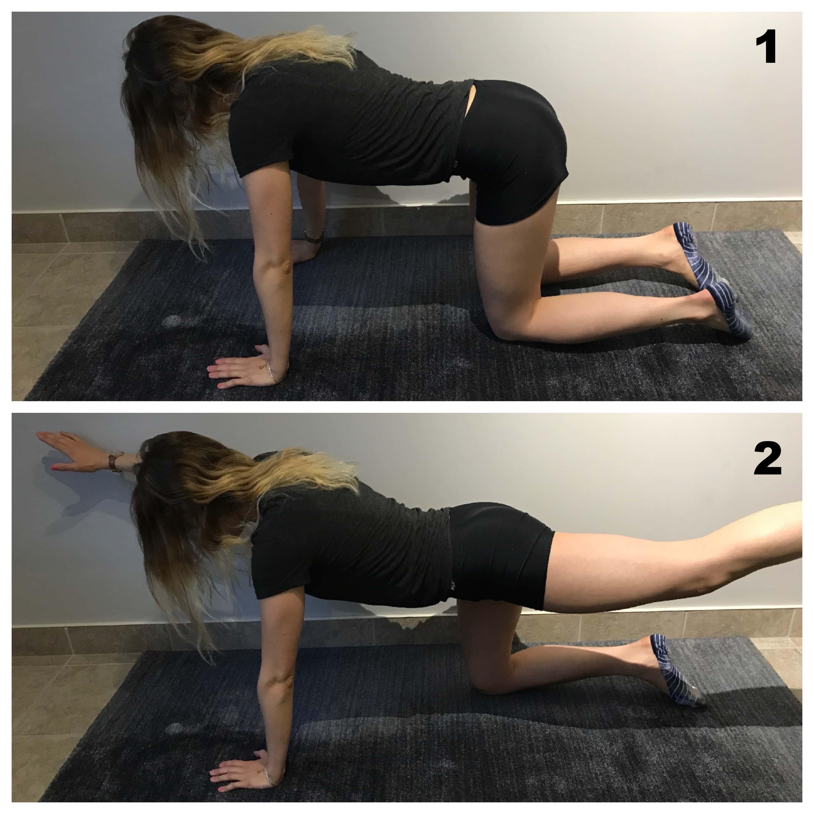 Renforcement des muscles du dos pour entorse lombaire