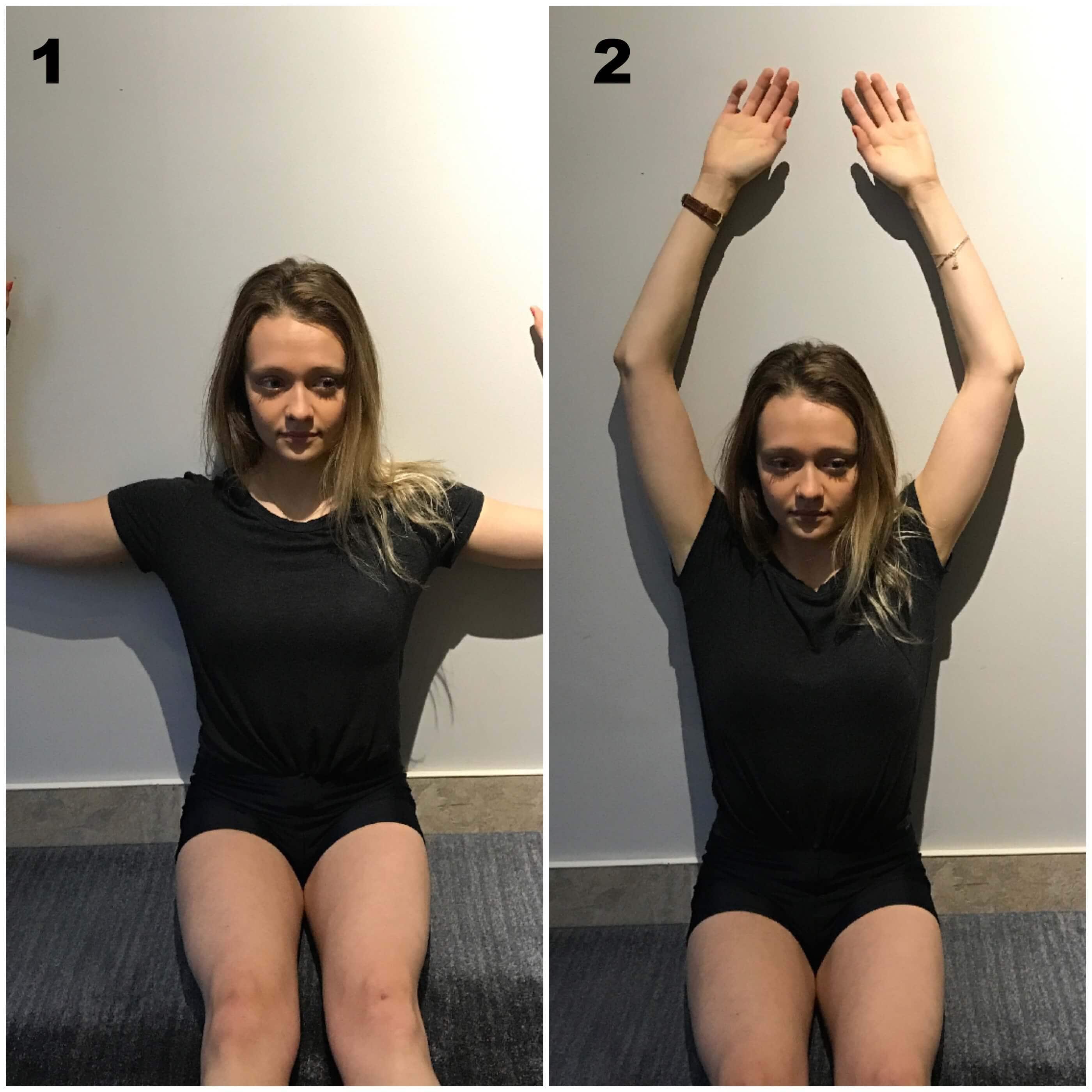 Etirement des muscles dorsaux et scapulaires pour mal de dos