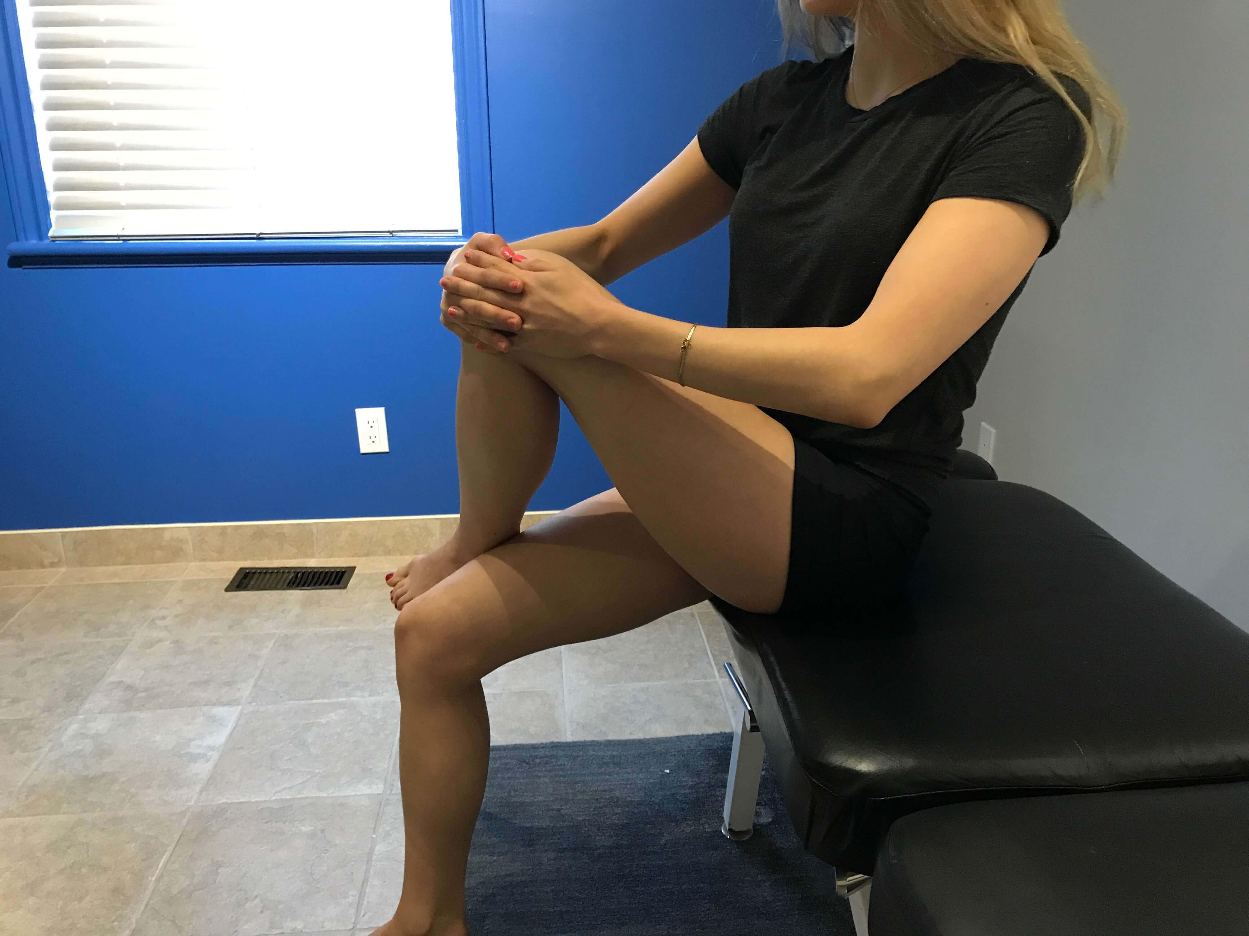 Etirement du piriforme assis mal de dos