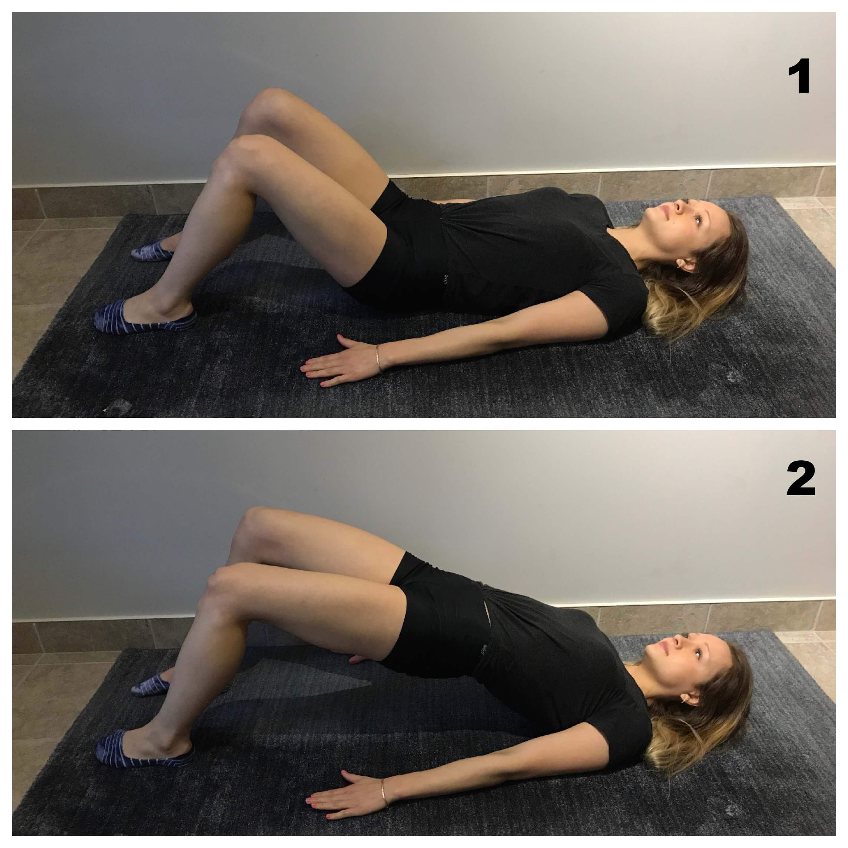 Exercice fessiers et abdominaux pour mal de dos