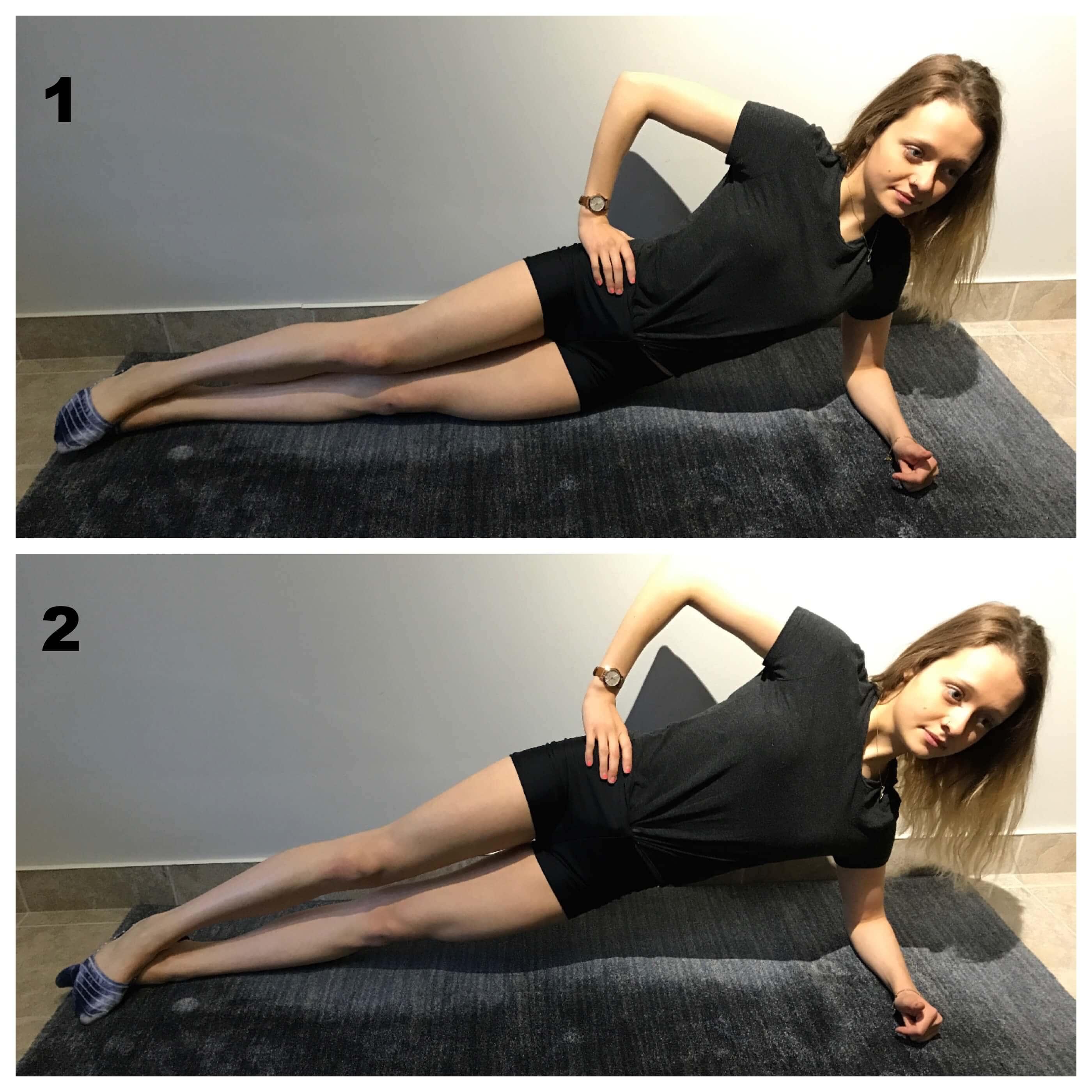 Planche laterale pour mal de dos