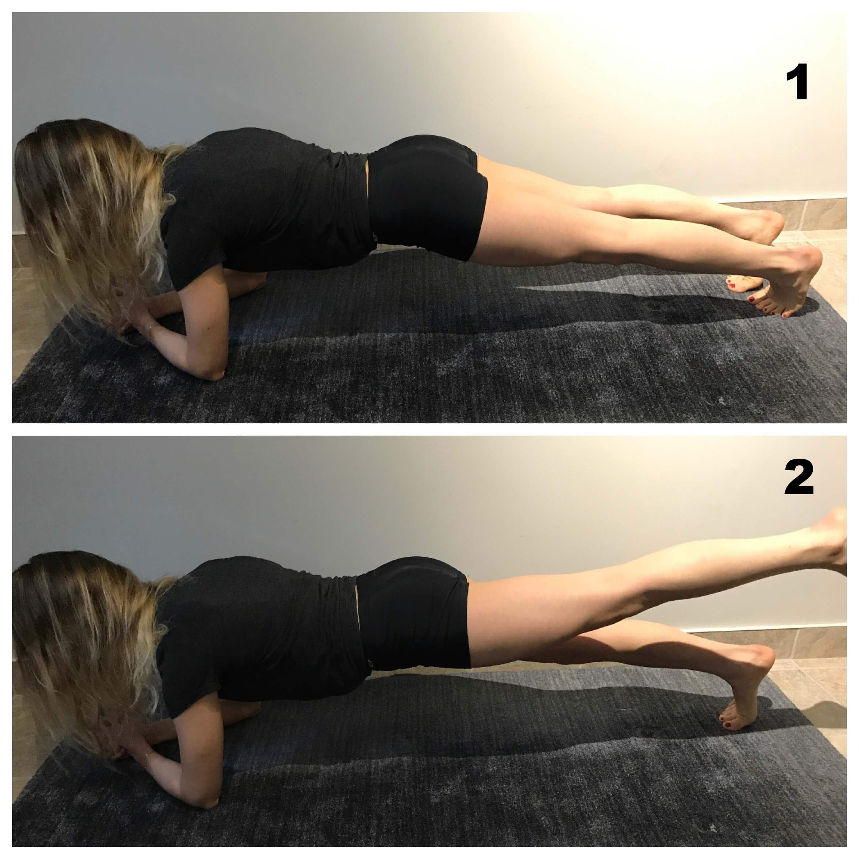 Renforcement du core abdominal pour mal de dos