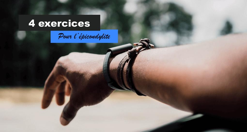Exercices pour epicondylite