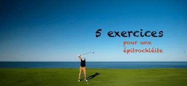 Exercices epitrochleite