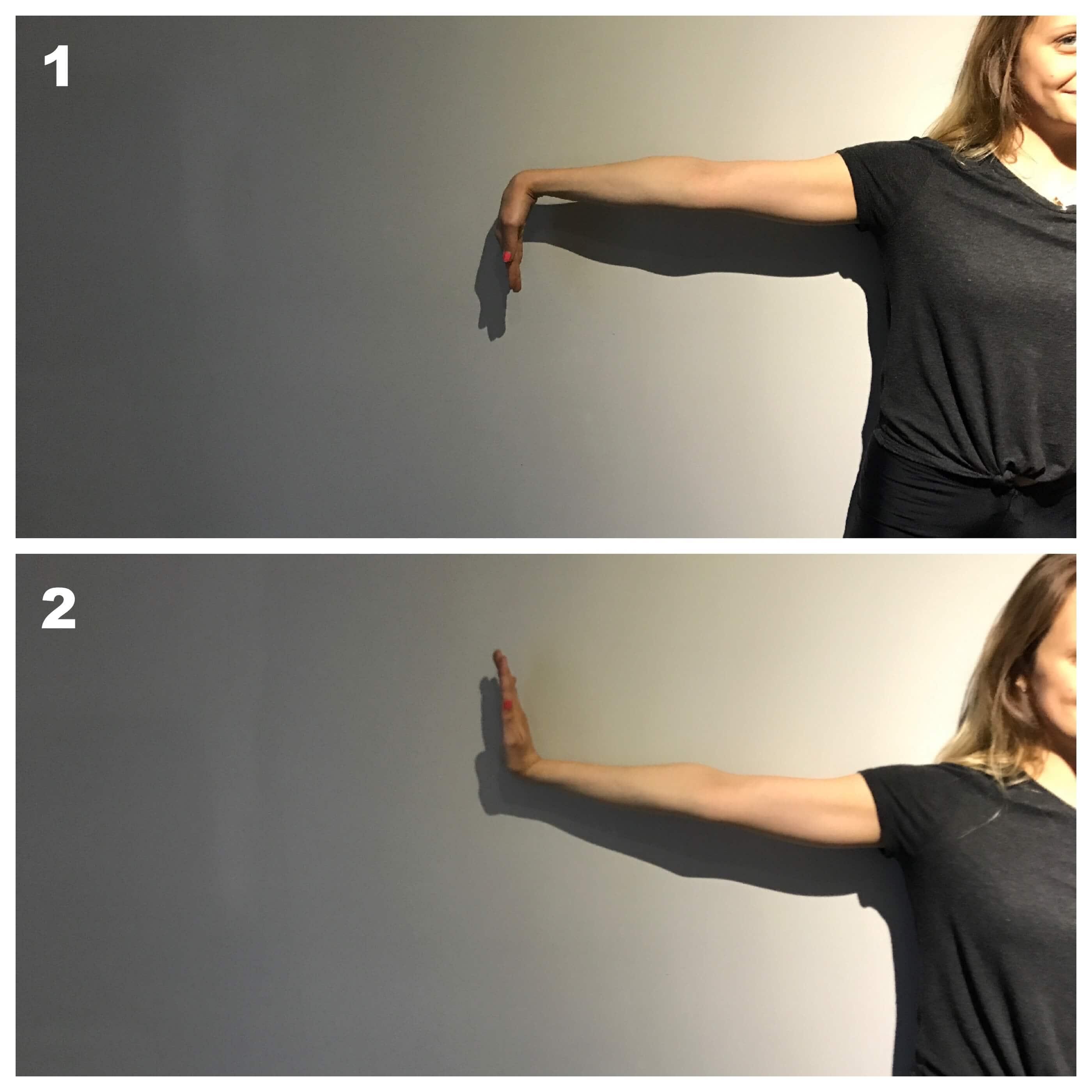 Flexion et extension pour tunnel carpien
