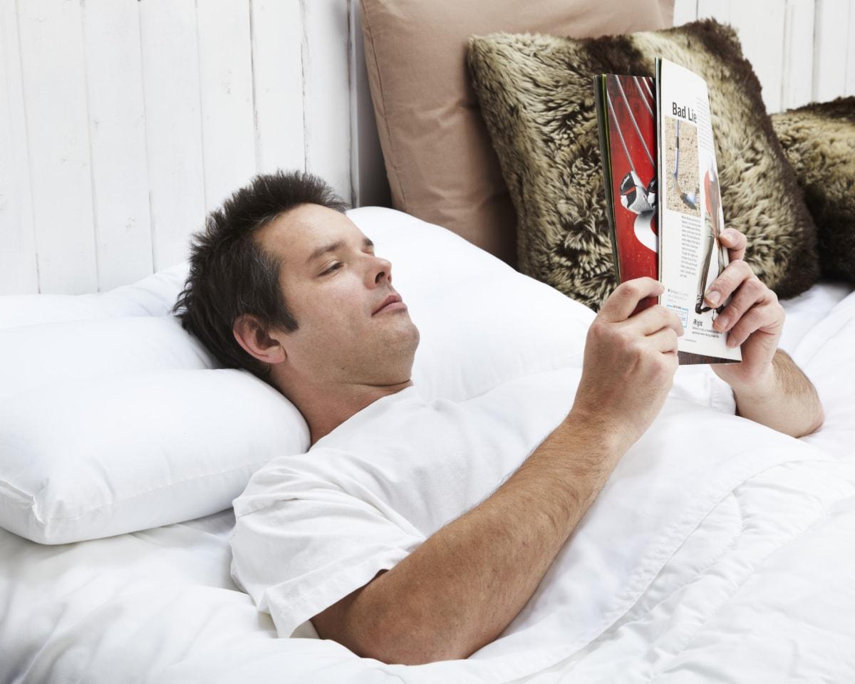 Position sommeil oreiller orthopedique